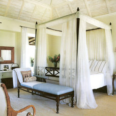 Tropical Bedroom by Jennifer Bradford Davis Interior Design