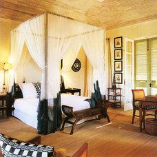 Tropical Bedroom by Jennifer Bradford Davis Interior Design