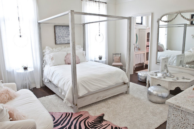 Eclectic Bedroom by Jolene Smith Interiors