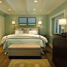 Beach Style Bedroom by Regan Baker Design