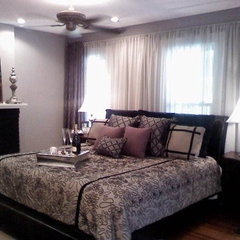 contemporary bedroom by We Decorate Columbus