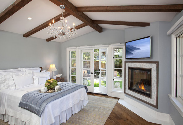 American Traditional Bedroom by Anna Lisa Avelar Interior Design