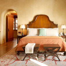 Mediterranean Bedroom by ScavulloDesign Interiors