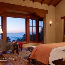 Mediterranean Bedroom by Schippmann Design