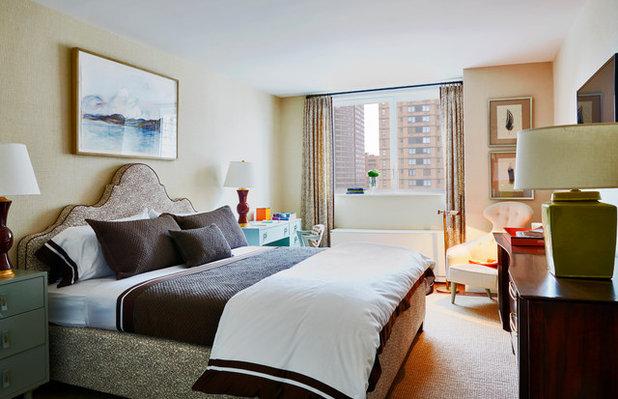 Eclectic Bedroom by Christopher Maya Associates Inc.