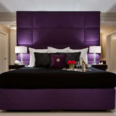 Contemporary Bedroom by Carolyn Miller Interiors