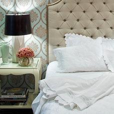 Traditional Bedroom by Jamie Herzlinger