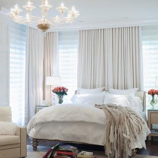 Пример оригинального дизайна: хозяйская спальня в классическом стиле