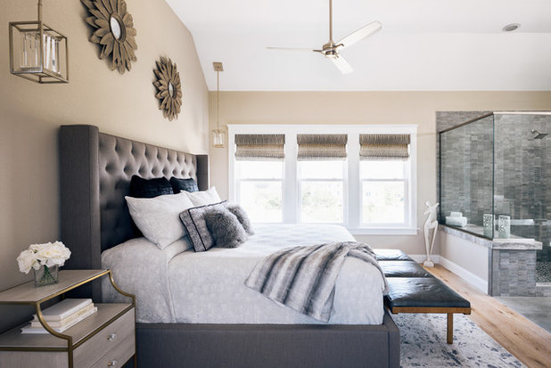 Modern Bedroom by Amy Hilliker Certified Designer-The Design Project