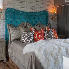 eclectic bedroom Carriage House