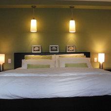 Contemporary Bedroom by Lorena Interiors