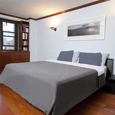 Contemporary Bedroom by Minch Construction