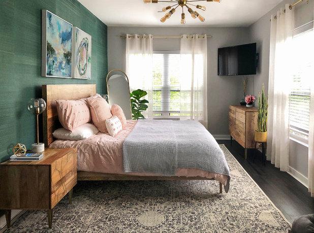 Contemporary Bedroom by ZAZ STUDIO