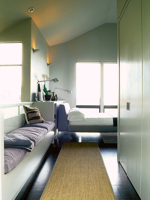narrow bedroom home design ideas pictures remodel and decor