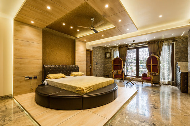 Contemporary Bedroom by Linear Concepts