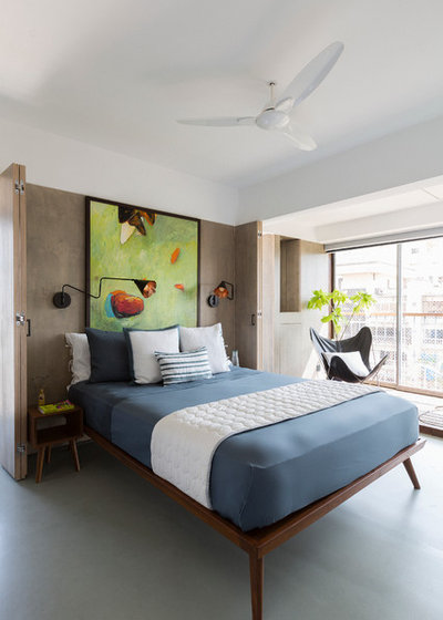 Contemporary Bedroom by Architecture BRIO