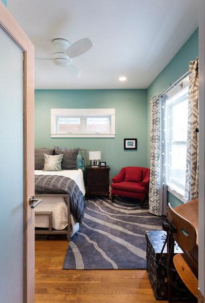 Contemporary Bedroom by Merzbau Design Collective