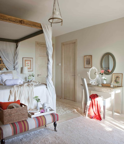 Shabby-chic Style Bedroom by Dafne Vijande