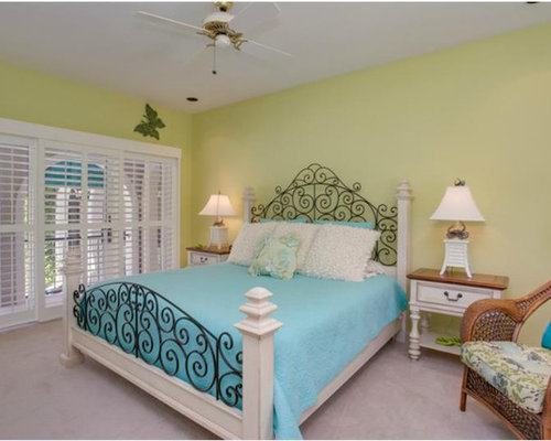 Turquoise And Lime Green Bedroom Design Ideas Remodels