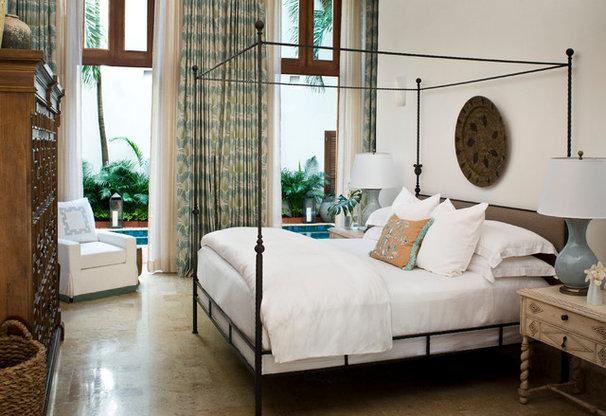 Tropical Bedroom by KS McRorie Interior Design
