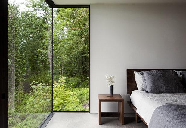 Модернизм Спальня by MW|Works Architecture+Design