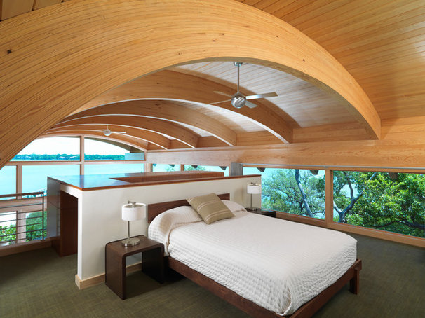 Contemporary Bedroom by Sweet Sparkman Architects