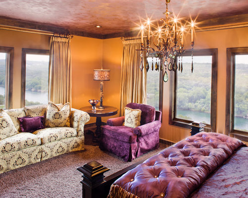 purple and orange bedroom decor best orange and purple design ideas amp remodel pictures houzz 19537