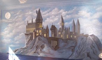 Castle mural
