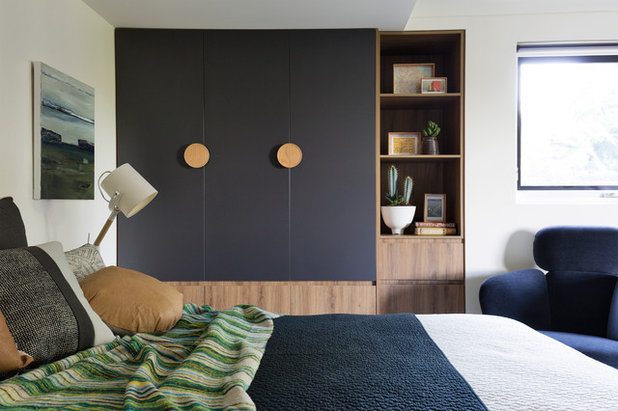 Contemporary Bedroom by Woods & Warner