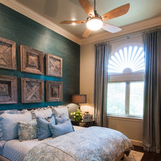 Rustic Bedroom by Stephanie Kratz Interiors