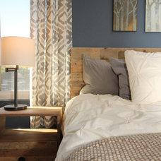 Contemporary Bedroom by Jami Abbadessa