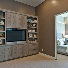 Contemporary Bedroom by Bryant Hill Media