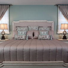 Traditional Bedroom by Decorating Den Interiors - Dianne Wallis