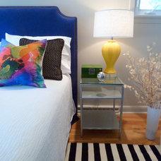 Contemporary Bedroom by Catherine Boardman Interiors