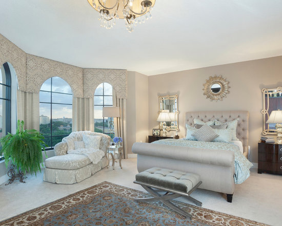 Greige Bedroom Home Design Interior ...