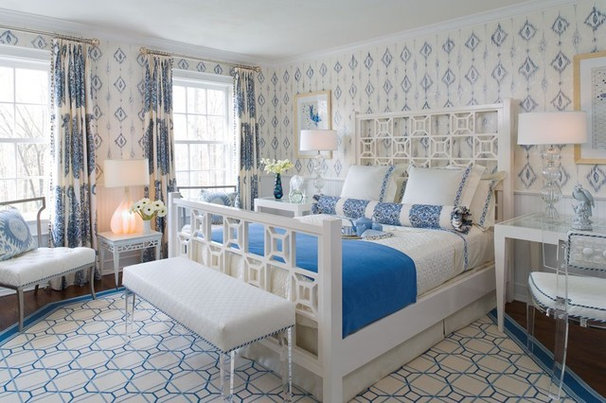 Contemporary Bedroom by Catherine Cleare