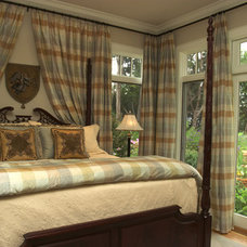 Traditional Bedroom by CDA Interior Design