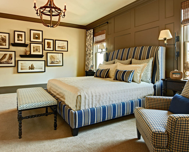 Traditional Bedroom by Carolina Design Associates, LLC