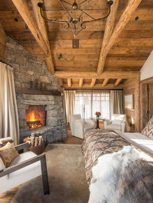Log cabin bedroom home design ideas pictures remodel and Log cabin 2 bedroom
