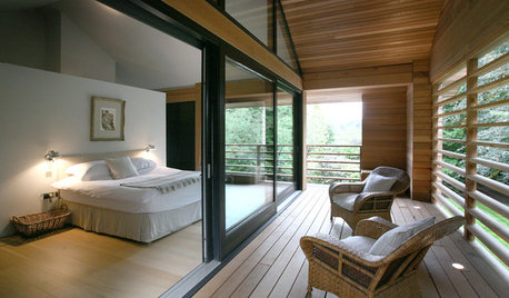Houzz Tour: A Streamlined Cedar-clad Home in the Cheshire Countryside
