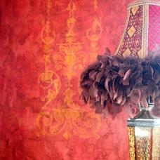 Eclectic Bedroom by Celadon Studio and Fine Art