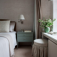 Transitional Bedroom by Adrienne Neff Design Services LLC