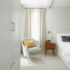 Transitional Bedroom by Best & Company