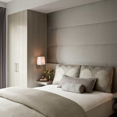 Contemporary Bedroom by darci hether new york