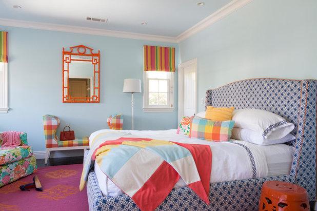 Transitional Bedroom by Coddington Design