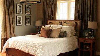 Century Home Elegant Master Bedroom