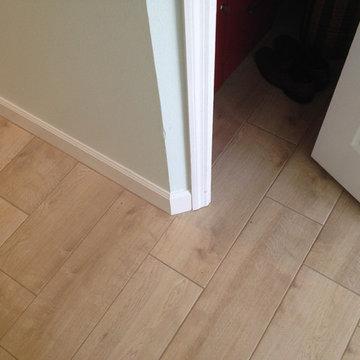 Ceramic Wood Look Tile; Great for Bedroom Floors