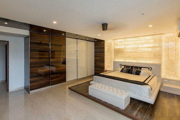 Contemporary Bedroom by DESIGN CAFE