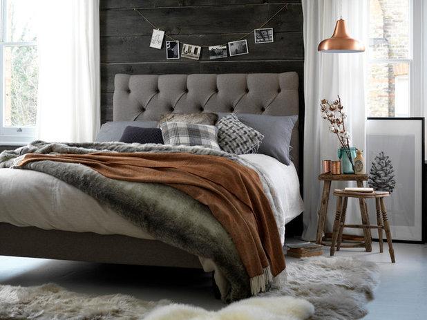 ラスティック 寝室 by Button & Sprung
