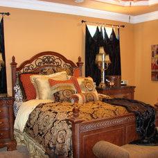 Mediterranean Bedroom by Summit Country Homes & Remodeling